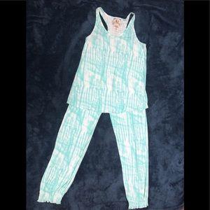 Women's PJ Couture Capri Pajama / Lounge Set